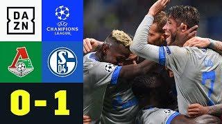 S04-Sieg bei Rendezvous mit Benni Höwedes: Lok Moskau – Schalke 04 0:1 | UEFA CL | DAZN Highlights