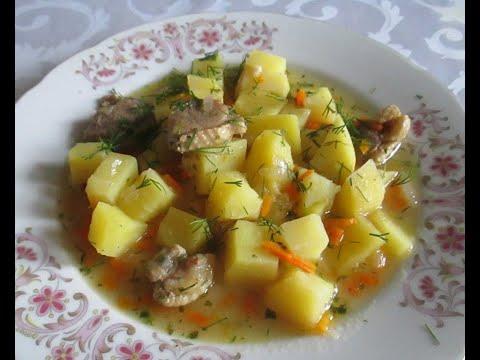 Рецепт утки тушеной с картошкой в мультиварке