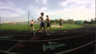 wj high school boys track team wow workout wednesday