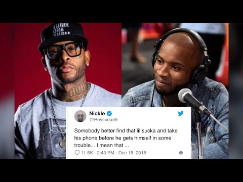 Tory Lanez & Royce Da 59 GET HEATED On Twitter W/ Royce Dropping A REAL WARNING To Tory!