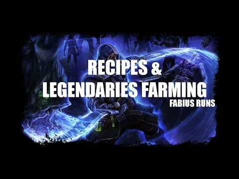 Grim Dawn - Legendaries & Recipes Best Farming Method