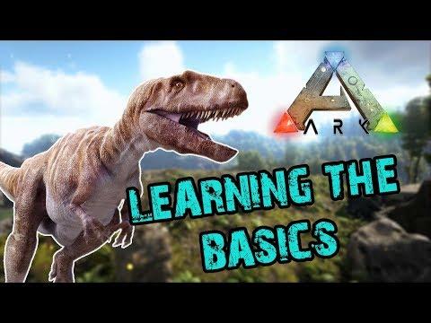 ARK Survival Evolved - Learning the basics