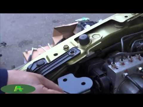 Установка амортизаторов упоров капота для Suzuki SX4 от boguz.ru