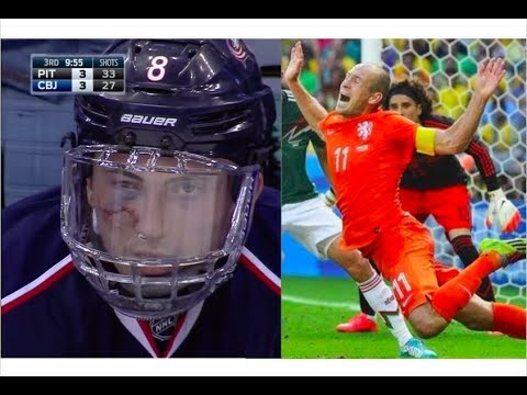 Ice Hockey Vs Soccer (Football)
