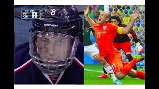 Ice Hockey vs Soccer (Football)