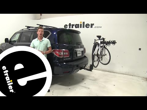 Thule Hitching Post Pro Hitch Bike Racks Review - 2019 Nissan Armada - etrailer.com