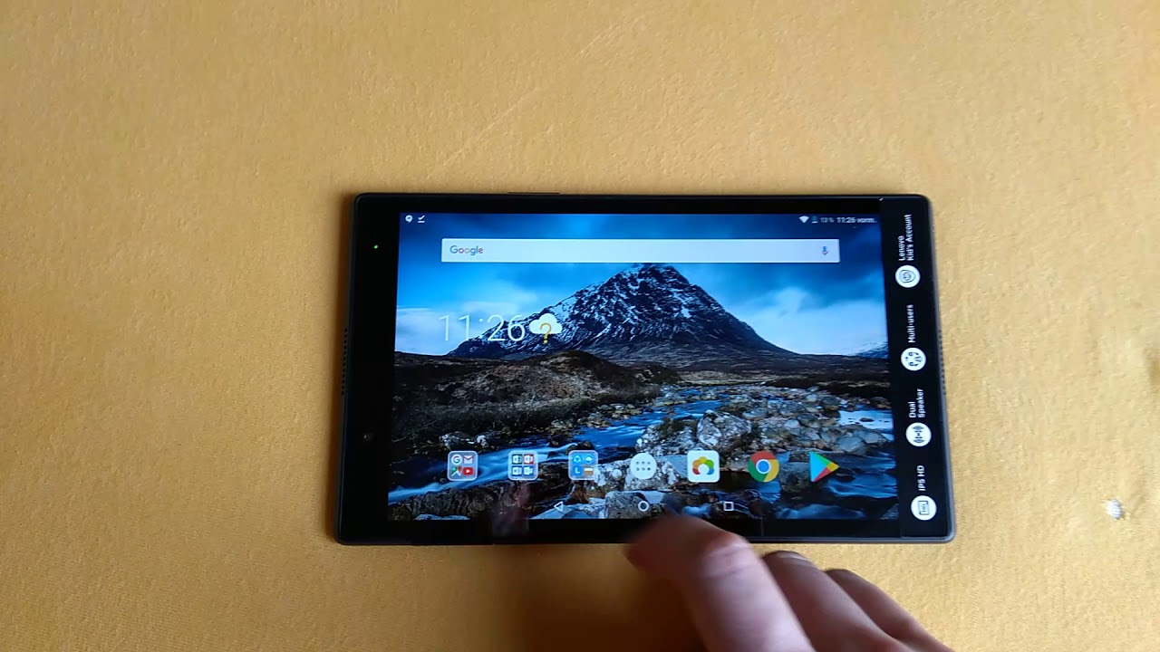 Lenovo Tab 4 8 Tablet Review - NotebookCheck net Reviews