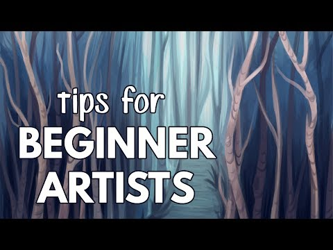 Tips for Beginner Artists! // Improvement, Style, & Inspiration