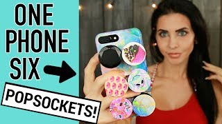 PopSockets - 6 PopSockets on ONE CASE! 😱