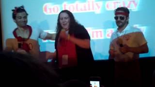 Supernatural - NJCon 2013 - Man, I Feel Like a Woman (Karaoke)