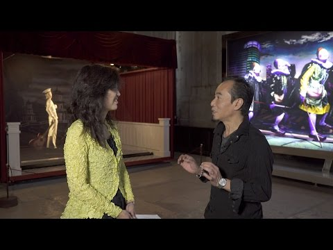 Wu Tien-chang in Conversation with the Director of Taipei Fine Arts Museum, Ms. Ping Lin