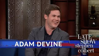 How Adam Devine Almost Died Once