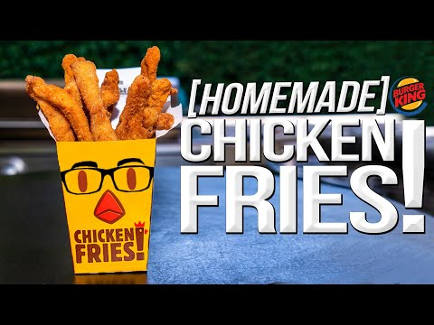 CHICKEN FRIES – BUT HOMEMADE & WAY BETTER! | SAM THE COOKING GUY 4K