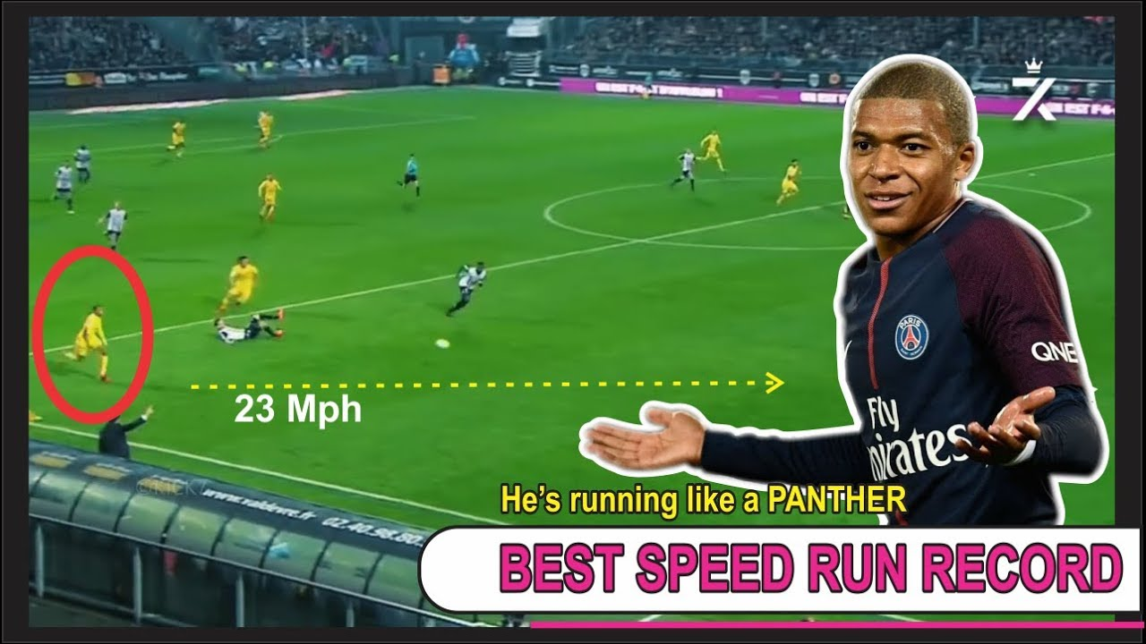 Mbappe Top Speed