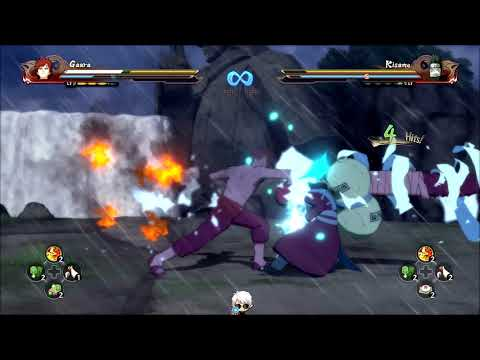 Naruto Shippuden: Ultimate Ninja Storm 4, Gaara VS Kisame Hoshigaki!