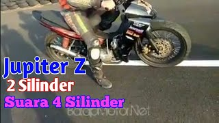 Download Video Modifikasi Jupiter Z 2silinder,suara mirip 4silinder. MP3 3GP MP4