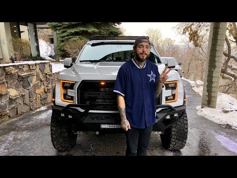 Post Malone VelociRaptor 6X6 Delivery