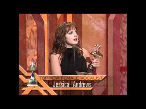 Jessica Andrews Wins Top New Female Vocalist - ACM Awards 2000