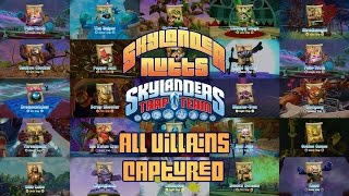 All Villains of Skylanders Trap Team Captured