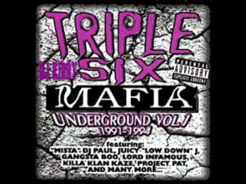 Triple Six Mafia - Mask & Da Glock (Screwed N Chopped)