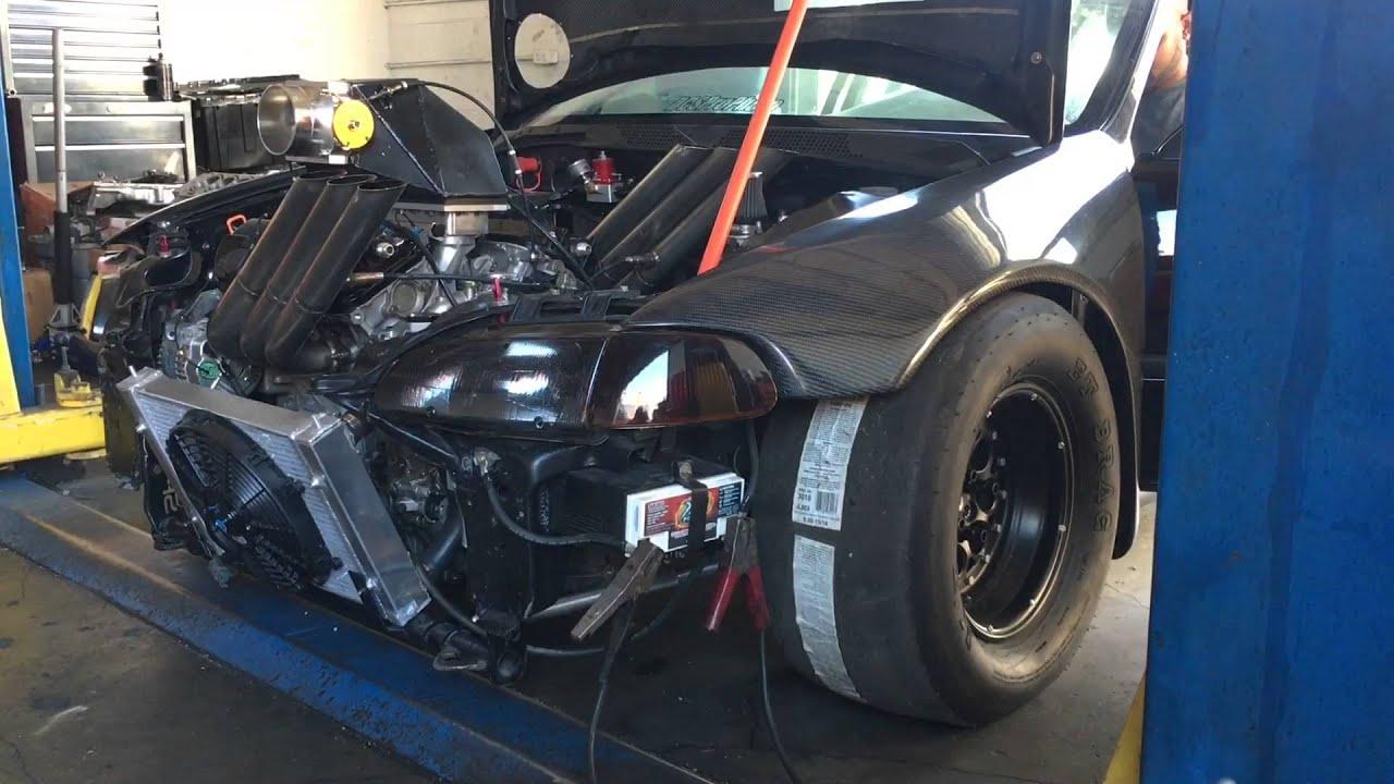 Honda J35 Engine Twin Turbo Racing