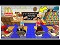 COSTRUIAMO IL MCDONALD'S A SCUOLA! - Minecraft ITA