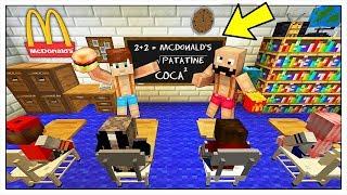 IL MCDONALD'S DENTRO LA SCUOLA! - Minecraft ITA