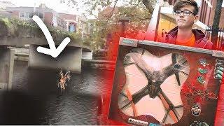 DROHNE CRASHT im WASSER!  (RIESEN Drohne GEKAUFT!) -DailyVlog 61