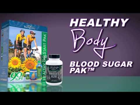 Fight Type 2 Diabetes Naturally with Dr Joel Wallach's Healthy Body Blood Sugar Pak from Youngevity