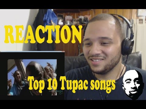 Top 10 Tupac Songs - REACTION!