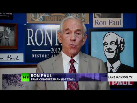 Dr. Ron Paul on Donald Trump, False Flags, Deep State & Shadow Government.