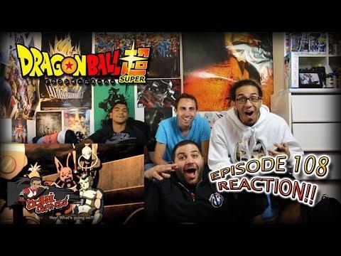 "Dragon Ball Super Ep. 108 REACTION + Predictions!! | ""フリーザとフロスト!交わる悪意!?"""