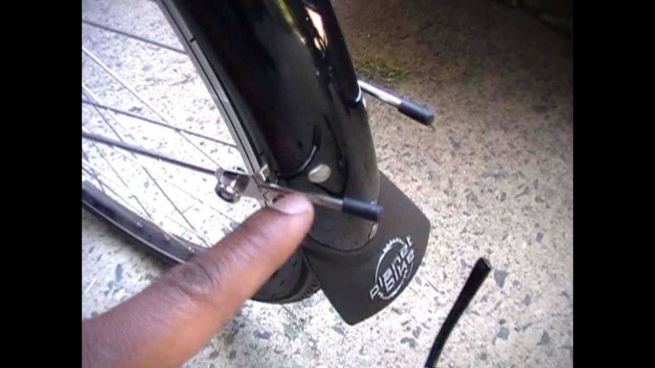 Planet Bike Hardcore Fenders Touring Bike Youtube