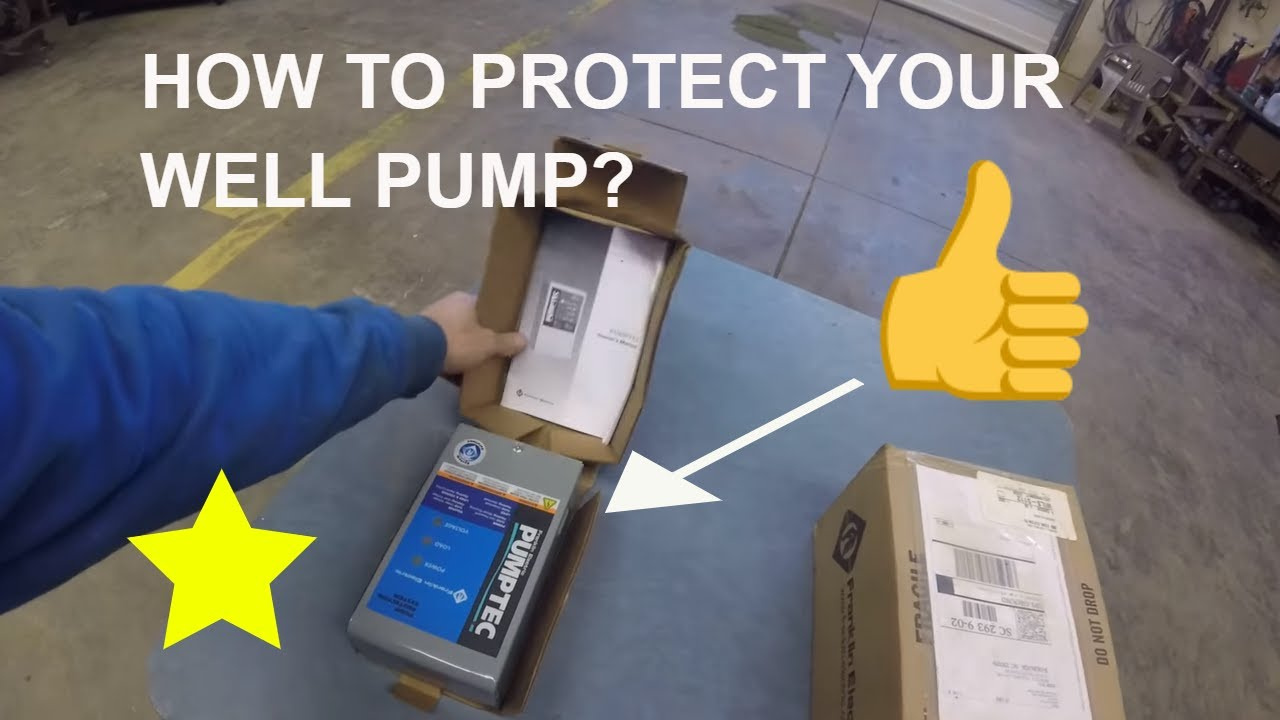 well pump protection franklin electric pumptec plus protector box review [ 1280 x 720 Pixel ]