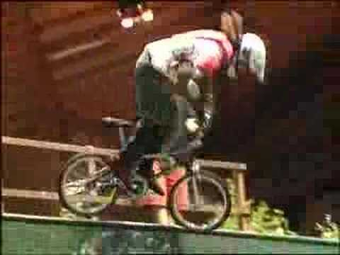 Matt Hoffman-bmx world champion ramp pro 1993