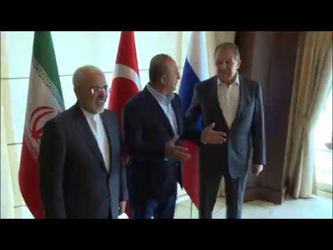 Встреча мининдел России, Турции и Ирана