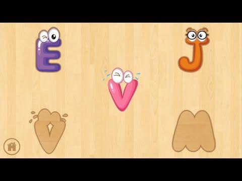 Harfleri Ogrenme Birlestirme Oyunu Learning Alphabet Youtube