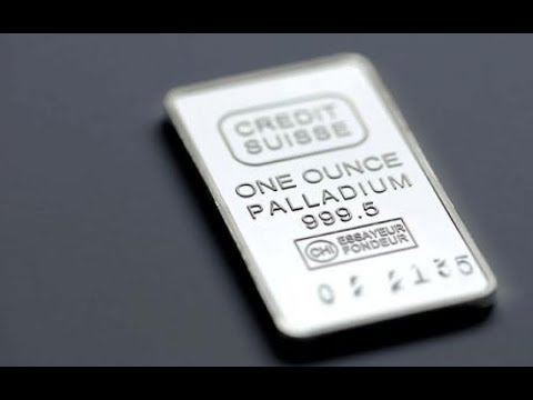 Palladium Prices Per Ounce
