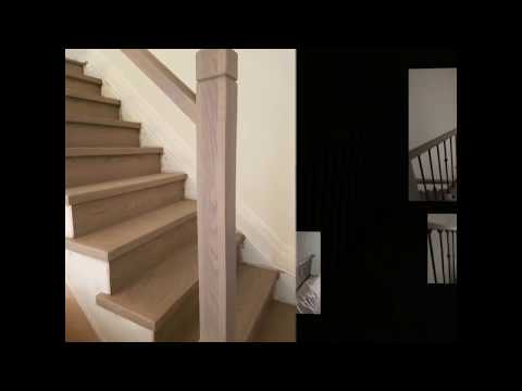 Staircase renovation in Vaughan