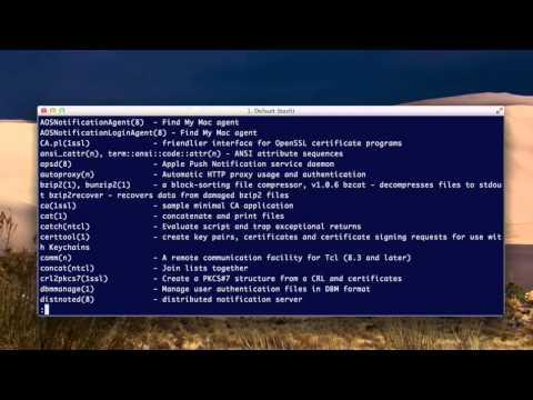 help commands (unix basics)