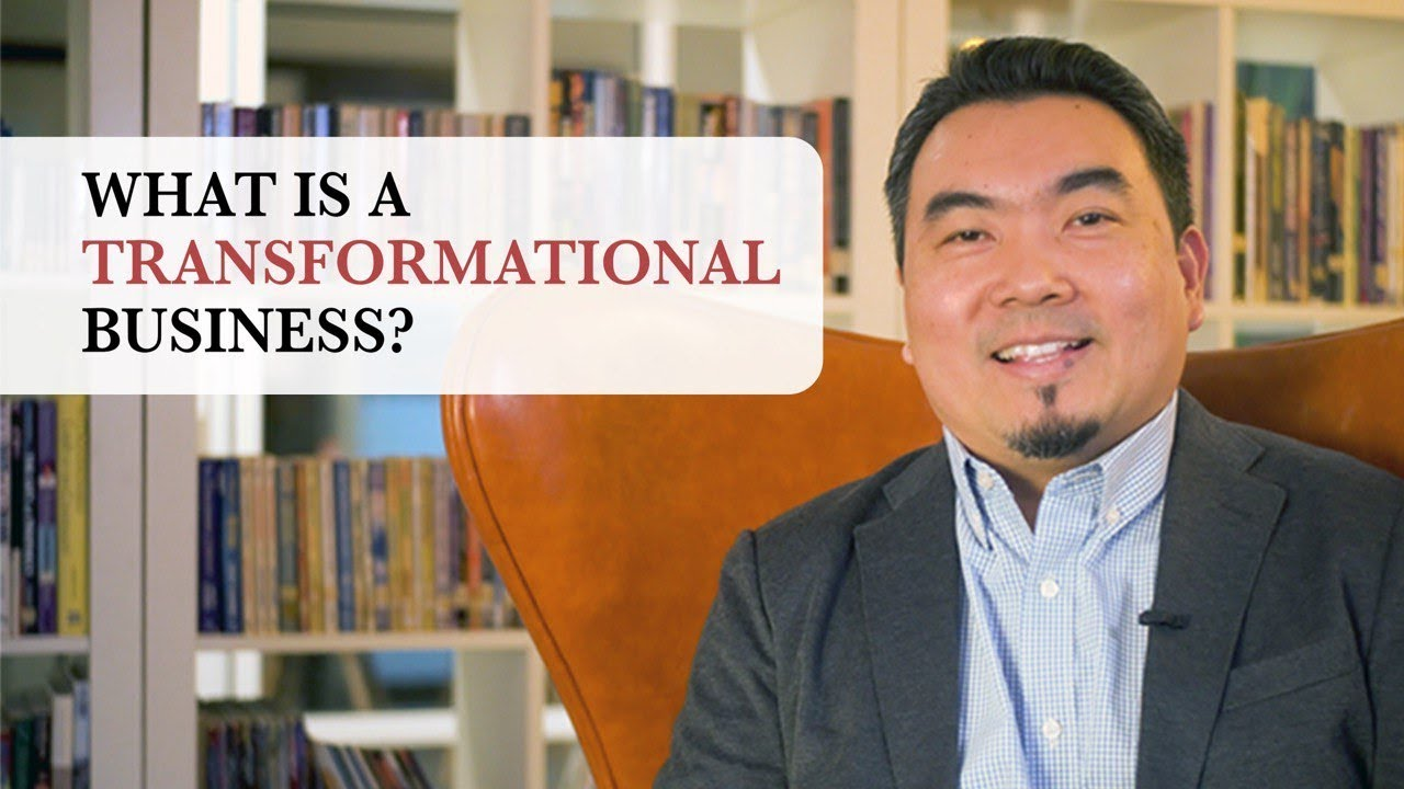 What is a Transformational Busines?