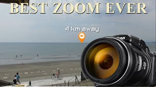 THE MOST POWERFUL ZOOM CAMERA IN THE WORLD - NIKON Coopix P1000 - SUPER ZOOM - Max  384,400km