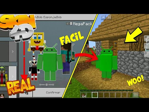 how to make 4d skins for minecraft pe