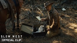 Slow West | Silas Gets Jay Ready To Head West | Official Movie Clip | A24
