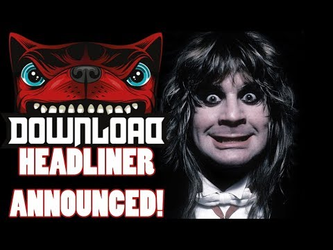 Ozzy Osbourne Headlines Download Festival 18