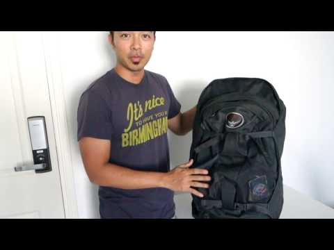 Osprey Farpoint 55L bag Review  - Intentional Travelers Travel Gear Reviews