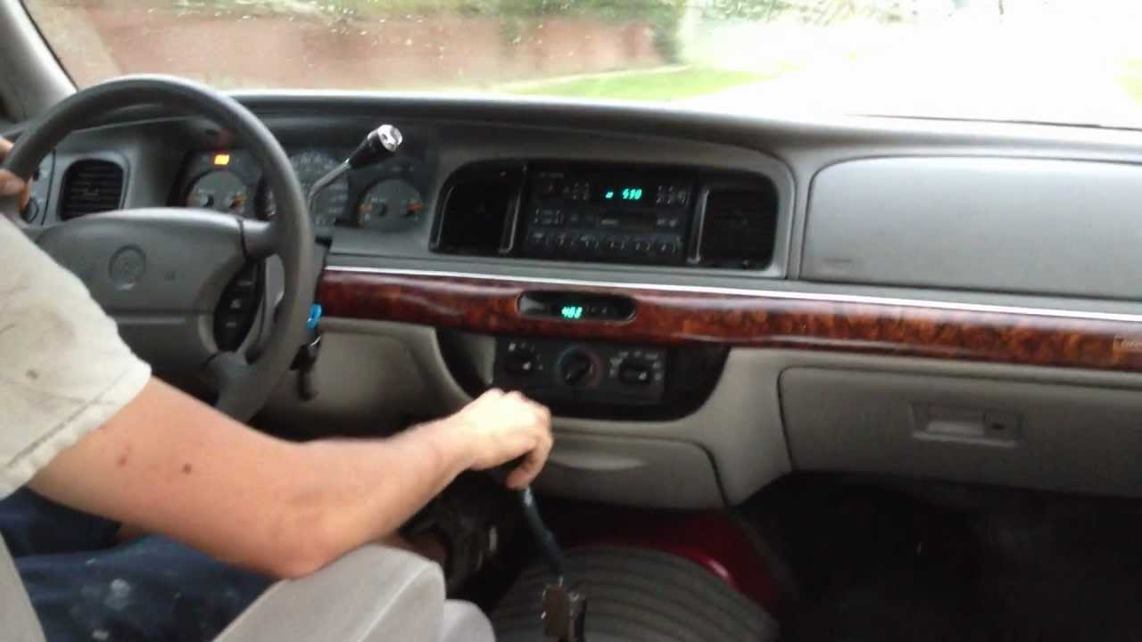 small resolution of 1997 mercury grand marquis with 5 speed manual transmission first drive youtube