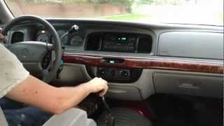 1997 Mercury Grand Marquis with 5-speed Manual Transmission, First Drive