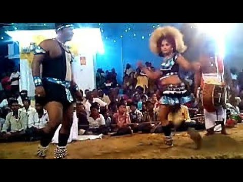 Beautiful Dance and singing  karakattam Tamil Nadu March /2017 HD720p