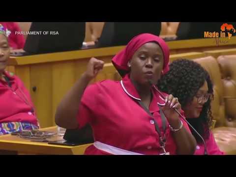 EFF vs Deputy Speaker - Funniest Thing ever in Parliament